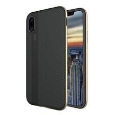 iPhone X Case,Flexible TPU Bumper Slim Fit Case Carbon Fiber Design iphone x