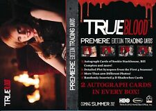 2012 RITTENHOUSE TRUE BLOOD PROMO CARD #P4