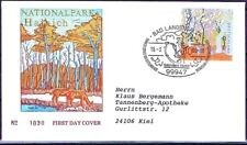 FRG 2000: The Hainich! FDC no. 2105 with bad-langensalza-stempel! USED! 1803