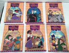 Disney Hunchback Notre Dame Books Set 6 Hardcover RARE 1996 Grolier Chapter FREE