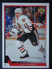 NHL 451 Jeff Shantz Chicago Blackhawks Upper Deck 1993/94