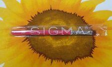 "Sigma ""SMALL ANGLE BRUSH"" E65 PINK BRUSH -Travel Size Brush (4 1/2"" long) -NEW"