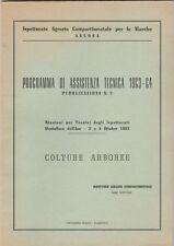 Riunione per tecnici degli ispettorati Montefiore dell'Aso 3 4 ottobre 1963 Colt
