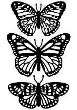 Butterfly Trio Darice Embossing Folder for Cardmaking, Scrapbooking, etc