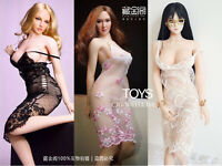"""CJG 1/6 Female Lace Skirt Dress Clothes Model Toy for 12"""" PH TBL Action Figure"""