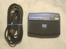 Linksys Wireless-G USB Network Adapter w/ Speed Booster WUSB54GS 2.1 + cable