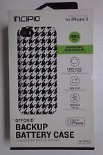 Incipio Offgrid Backup Battery Case For Iphone 5 Checkers  -8