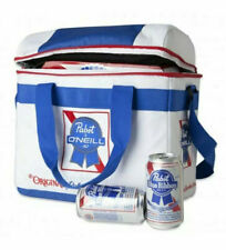 Pabst Blue Ribbon O'neill Soft Shell Can Cooler / Lunch Pail / Beach Bag New!