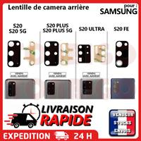 Lentille arrière appareil photo SAMSUNG GALAXY S20 - S20+ PLUS vitre Camera Lens