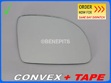 Wing Mirror Glass VW NEW BEETLE 1998-2003 CONVEX + TAPE Right Side SMALL /1040
