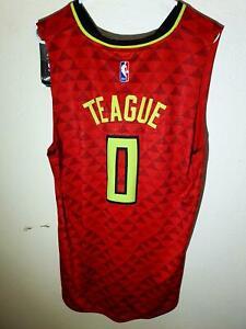 Adidas Swingman NBA Jersey Atlanta Hawks Jeff Teague Red sz XL