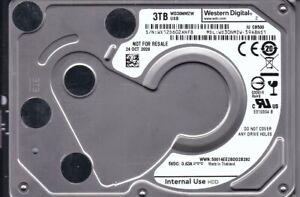 "WD WD30NMZW-59A8NS1 s/n: WX12D 3TB USB 3.0 OCT 2020 Thailand 2.5"" HDD B20-17"