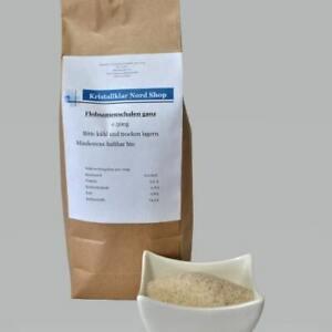 Flohsamenschalen ganz 500g indische Flohsamenschalen 99%Reinheit/Schalen