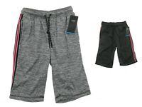 Split Mens Tech Fleece Training Shorts with Elastic Waist Casual MSRP $26