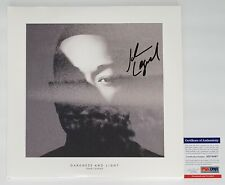 JOHN LEGEND SIGNED DARKNESS AND LIGHT RECORD ALBUM PSA COA AD74567