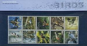 2007 GB Birds Presentation Pack Species in Recovery Royal Mail Mint Stamps