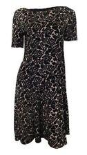 Vestiti da donna a manica corta formale nero