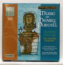 DELLER, HARNONCOURT, LEONHARDT - MUSIC OF HENRY PURCELL - VANGUARD 6xCDs NM