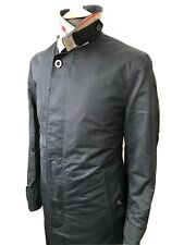 """Burberry Mac/Trench Camden """"Car"""" Coat, Black, Size 36R (Small) RRP £1,350"""