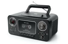 Muse M-182 Stereo-Radio mit CD-Player und Kassetten-Recorder mit Aufnahme-Funkti