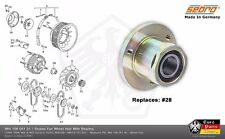 PORSCHE 911 964 993 Engine Fan Wheel Hub Bearing Alternator Cooling Impeller Fan