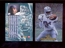 1997 CE Collectors Edge Masters DEION SANDERS Dallas Cowboys Card