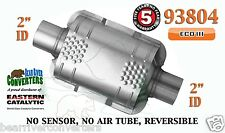"93804 Eastern Universal Catalytic Converter ECO III Catalyst 2"" Pipe 8"" Body"
