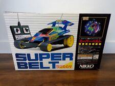 RARE Vintage 90's Nikko Japan 1/14 Super Belt Buggy MIB Taiyo Tyco Fast Traxx