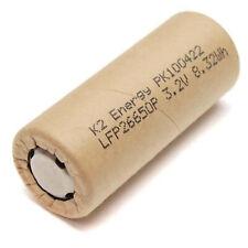 K2 Energy LFP26650P 3.2V 2.6Ah LiFePO4 High Drain Rechargeable Battery
