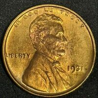 1931 P Lincoln Cent Wheat Penny Choice Uncirculated High Grade
