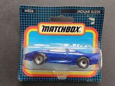 MATCHBOX JAGUAR XJ220 # MB26 METALLIC BLUE