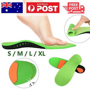 Orthotic Insoles Arch Support Flat Foot High Plantar Feet Fasciitis Pad Insert