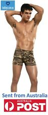 Male Power Panel Short Camo From Naughty Boy