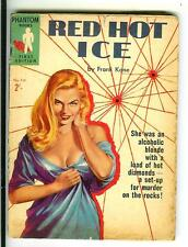 RED HOT ICE by Kane, rare Australian Phantom #719 crime gga digest vintage pb