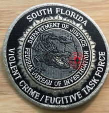 FBI - Miami Field Office - Violent Crime/Fugutive TF - Genuine *Kokopelli Patch*