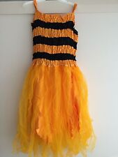 ADULT Bumble Bee Fancy Dress Fairy Costume 18 20 22