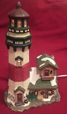 Santa's Workbench Collection Victorian Series Canoe Point Lighthouse 479-4780.