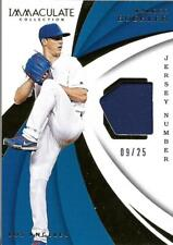 2018 Immaculate Collection Immaculate Swatches Jersey Number Walker Buehler /25
