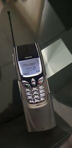 Nokia 8890 - Excellent Condition- Titanium- Beautiful Classic -Vintage Retro