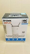 D-Link DAP-1620 AC1200 Wi-Fi Range Extender Repeater or Access Point AP *NEW*