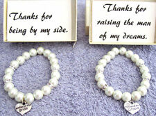 Both Mother of the Bride AND Mother of the Groom Bracelet with Card & Gift Box