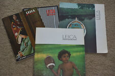 Leica Photography Magazines - Set of 4