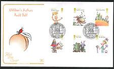 2012 Roald Dahl - FDC - London SW1A !AA (Boy) Pmk