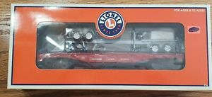 Lionel 6-26058 - Southern Pacific Flat Car with Trailer Frames - NEW!