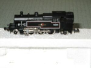 Hornby Minitrix N Gauge 2-6-2 Steam Locomotive BR Black