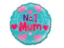 "18"" NO1 MUM HELIUM FOIL BALLOON BIRTHDAY PARTY / MOTHERS DAY oak 229516"