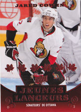 10-11 Upper Deck French Jared Cowen /25 Young Guns RED Rookie Senators 2010