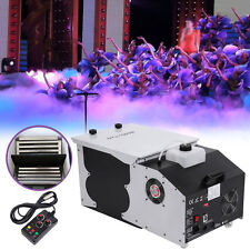 1500W Low Laying Smoke Fog Machine Dry Ice Effect Stage DJ Wedding Party Bar