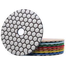4 Dry Diamond Polishing Pads For Granite Marble Concrete Floor Honeycomb Shaped