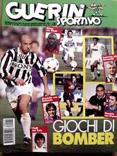 Guerin Sportivo n°15 1996 Giochi di Bomber  - Con Film del Campionato [GS13]